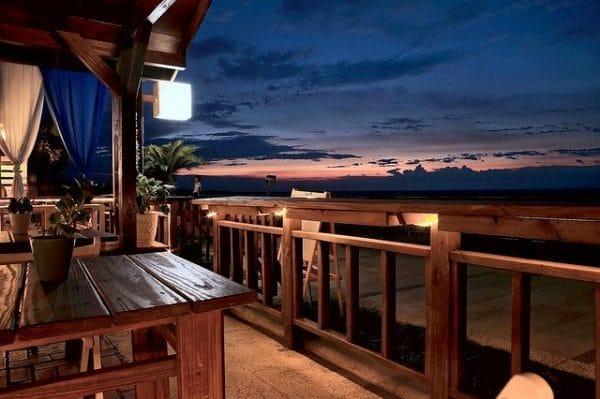 Restaurant pour un anniversaire sur la plage