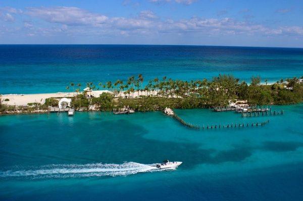 Un bateau à Nassau
